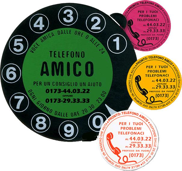 Telefono Amico 0173 440322